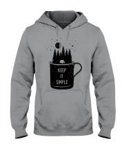 Keep It Simple 3 Hooded Sweatshirt front