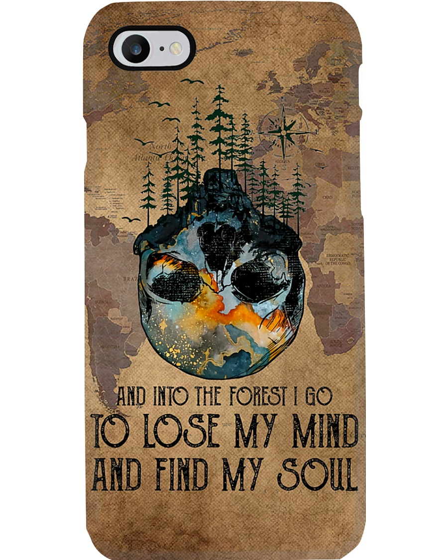 And Into The Forest I Go Phone Case