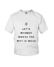 Lets Wander Youth T-Shirt thumbnail