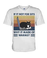 Why It Made Of Warms V-Neck T-Shirt thumbnail