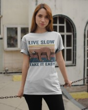 Live Slow Take It Easy Classic T-Shirt apparel-classic-tshirt-lifestyle-19
