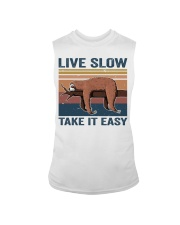 Live Slow Take It Easy Sleeveless Tee thumbnail