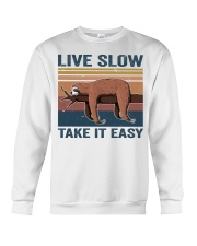 Live Slow Take It Easy Crewneck Sweatshirt thumbnail