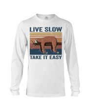 Live Slow Take It Easy Long Sleeve Tee thumbnail