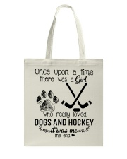 Dogs And Hockey Tote Bag tile