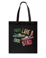Party Like A Crocs Star Tote Bag thumbnail