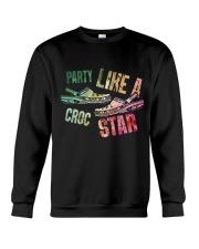 Party Like A Crocs Star Crewneck Sweatshirt thumbnail