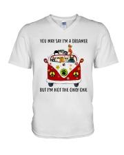 Cat V-Neck T-Shirt thumbnail