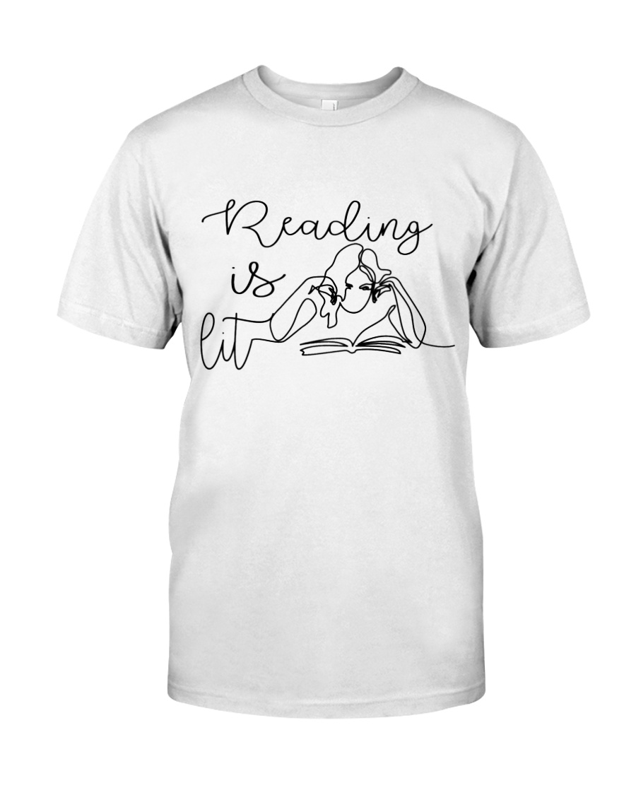 Reading Is Lit Classic T-Shirt