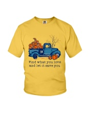 Find What You Love Youth T-Shirt thumbnail