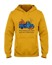 Find What You Love Hooded Sweatshirt front