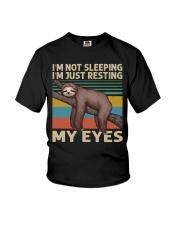 I Am Not Sleeping Youth T-Shirt thumbnail