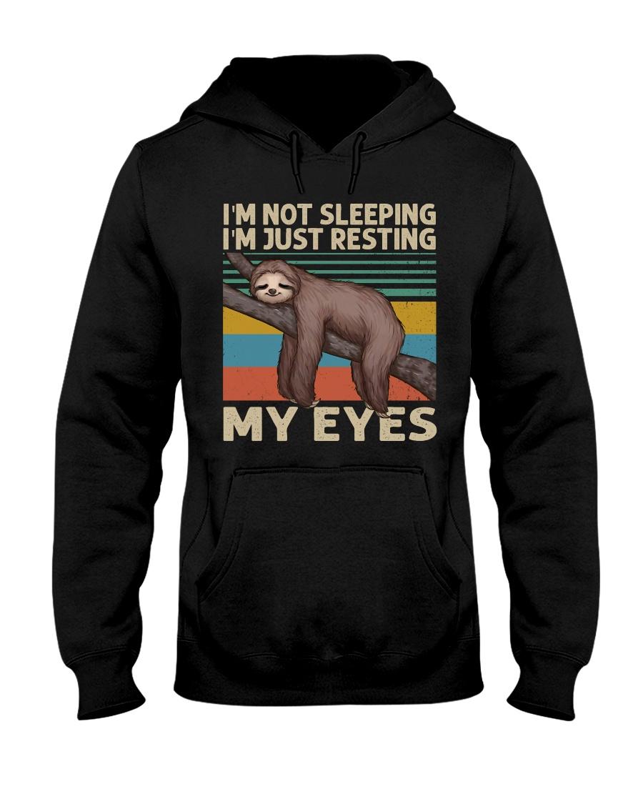 I Am Not Sleeping Hooded Sweatshirt