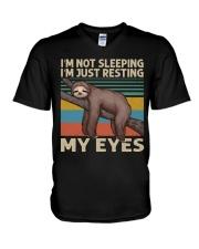 I Am Not Sleeping V-Neck T-Shirt thumbnail