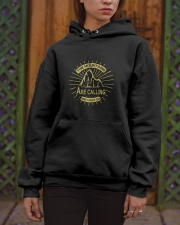 The Mountains Are Calling Hooded Sweatshirt apparel-hooded-sweatshirt-lifestyle-front-03