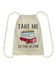 Take Me To The Ocean Drawstring Bag thumbnail