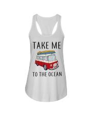 Take Me To The Ocean Ladies Flowy Tank thumbnail