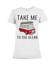 Take Me To The Ocean Premium Fit Ladies Tee thumbnail