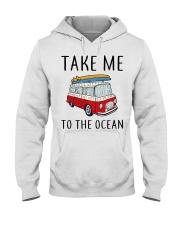 Take Me To The Ocean Hooded Sweatshirt thumbnail