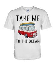 Take Me To The Ocean V-Neck T-Shirt thumbnail