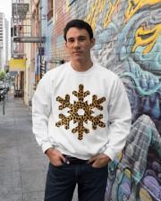 Snow Crewneck Sweatshirt lifestyle-unisex-sweatshirt-front-2
