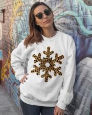 Snow Crewneck Sweatshirt lifestyle-unisex-sweatshirt-front-3