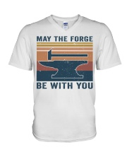 May The Forge Be With You V-Neck T-Shirt thumbnail