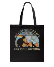 Cat Puke Division Tote Bag thumbnail