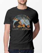 Cat Puke Division Classic T-Shirt lifestyle-mens-crewneck-front-13