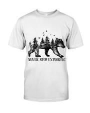 Never Stop Exploring Classic T-Shirt thumbnail
