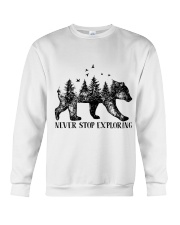 Never Stop Exploring Crewneck Sweatshirt thumbnail