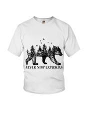 Never Stop Exploring Youth T-Shirt thumbnail