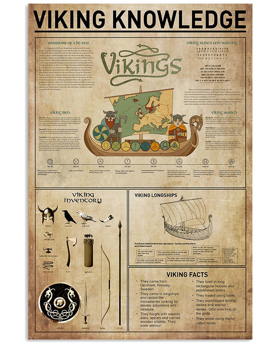 Viking Knowledge 11x17 Poster