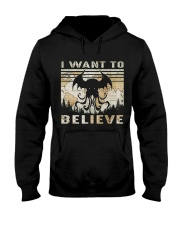 I Want To Believe Hooded Sweatshirt thumbnail