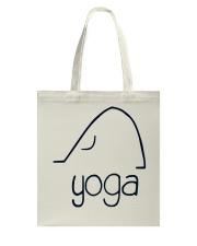 Love Yoga Tote Bag thumbnail