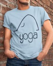 Love Yoga Classic T-Shirt apparel-classic-tshirt-lifestyle-26