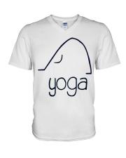 Love Yoga V-Neck T-Shirt thumbnail