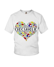 I am A Crocsaholic Youth T-Shirt thumbnail