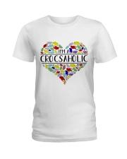 I am A Crocsaholic Ladies T-Shirt thumbnail