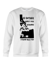 Go Outside Crewneck Sweatshirt thumbnail