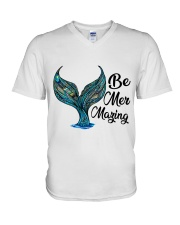Be Mermazing V-Neck T-Shirt thumbnail