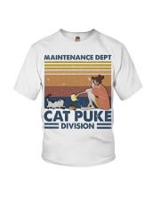 Cat Puke Division Youth T-Shirt tile