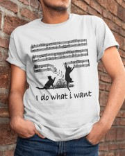 I Do What I Want Classic T-Shirt apparel-classic-tshirt-lifestyle-26