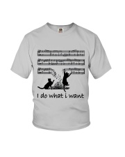 I Do What I Want Youth T-Shirt thumbnail