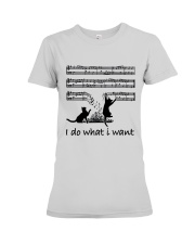 I Do What I Want Premium Fit Ladies Tee thumbnail
