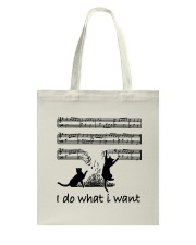I Do What I Want Tote Bag tile