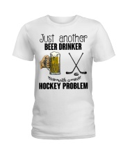 Just Another Beer Drinker Ladies T-Shirt thumbnail