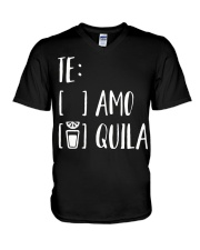 Tequila V-Neck T-Shirt tile