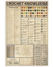 Crochet Knowledge 11x17 Poster front