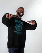 Miskatonic University Hooded Sweatshirt apparel-hooded-sweatshirt-lifestyle-front-12